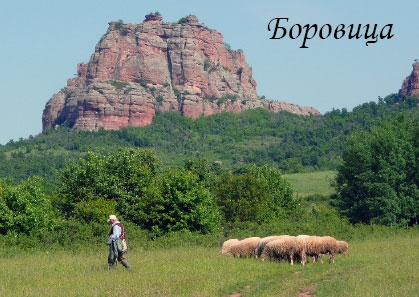 Postkarte Borowitza